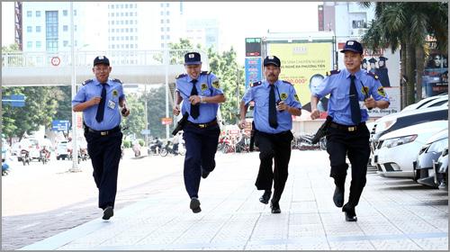 Lực lượng nhân viên cơ động của Công ty bảo vệ Fire Wall